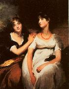Sir Thomas Lawrence The Daughters of Colonel Thomas Carteret Hardy oil painting